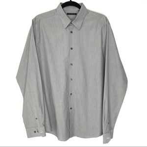 Theory 16.5-34/35 Dover Pnt Collar Dividend Shirt